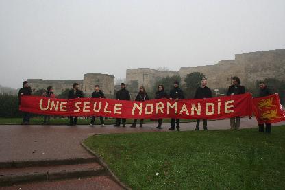 Banderole une seule Normandie
